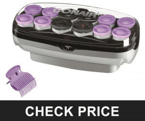 CONAIR XTREME HEAT  AND SUPER JUMBO HOT ROLLERS – EXTRA CLIPS